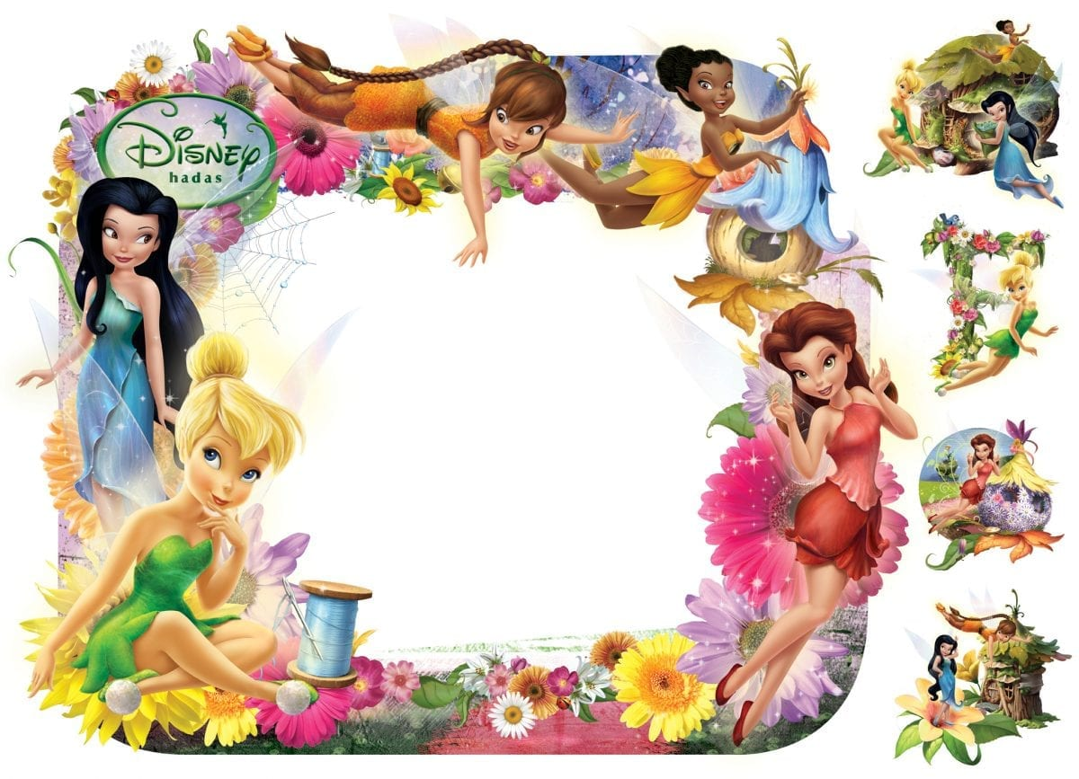 Wallsticker pizarra Hadas DISNEY 1563-1