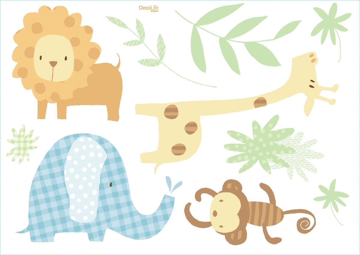Wallstickers Animales
