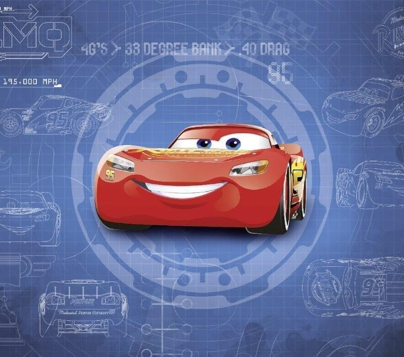 Fotomural Cars DISNEY 8488 - Komar