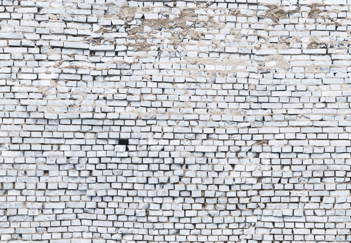 Fotomural ladrillo blanco 8881 - Komar