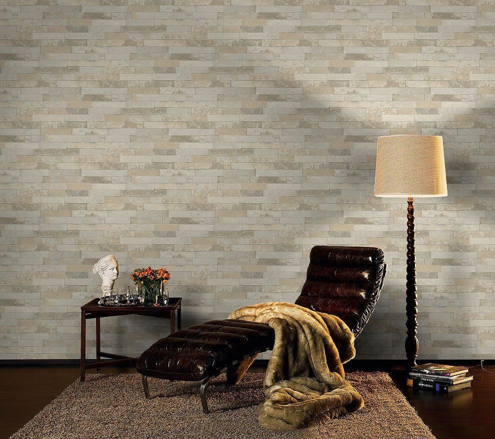 Papel mural Piedra clara FACTORY 475111 Rasch