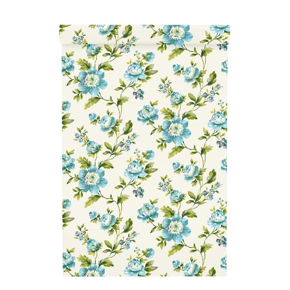 Papel mural flores 442212 - Rasch