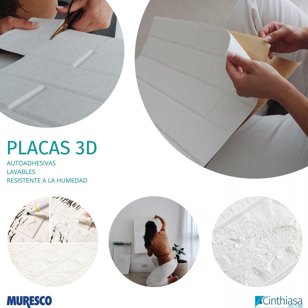 Placas 3 D